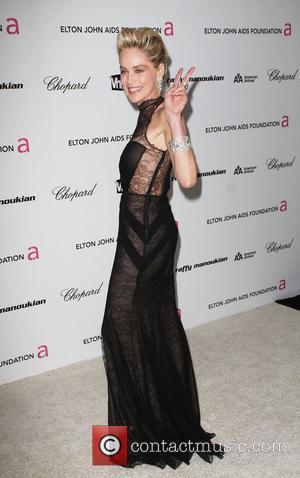 Sharon Stone, Elton John and Academy Awards