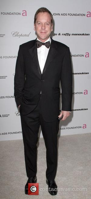 Kiefer Sutherland 17th Annual Elton John AIDS Foundation Academy Awards (Oscars) viewing party, held at the Pacific Design Center West...