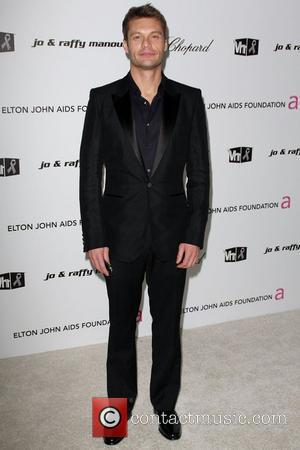 Ryan Seacrest 17th Annual Elton John AIDS Foundation Academy Awards (Oscars) Viewing Party held at the Pacific Design Center West...