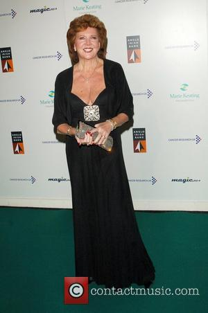 Cilla Black The Emeralds and Ivy Ball for Cancer Research UK, held at Battersea Park London, England - 21.11.08