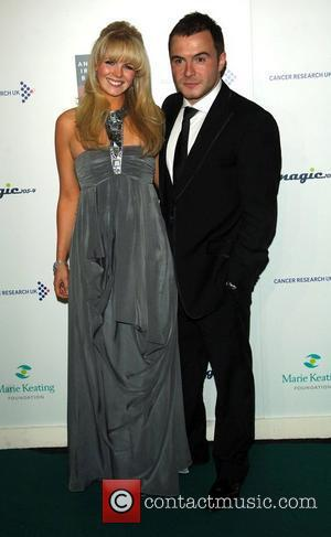 Shane Filan & Wife The Emeralds and Ivy Ball for Cancer Research UK, held at Battersea Park London, England -...