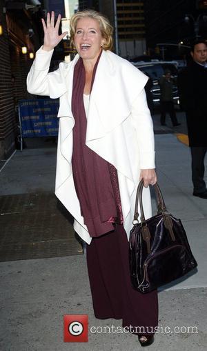 Emma Thompson and David Letterman