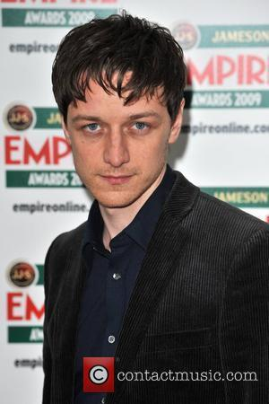 James McAvoy Jameson Empire Film Awards held at the Grosvenor House Hotel - Arrivals. London, England - 29.03.09