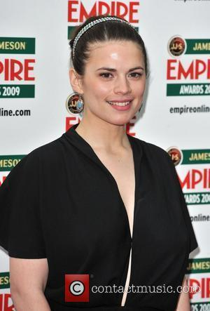 Hayley Atwell Jameson Empire Film Awards held at the Grosvenor House Hotel - Arrivals. London, England - 29.03.09