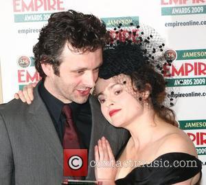 Michael Sheen and Helena Bonham Carter Jameson Empire Film Awards held at the Grosvenor House Hotel - Press Room London,...