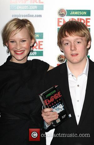 Joanna Page, Thomas Turgoose Winners Of The Best Horror Award For 'eden Lake' and Grosvenor House