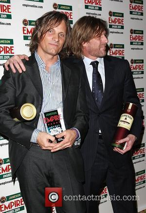 Viggo Mortensen winner of Empire Icon with Sean Bean Jameson Empire Film Awards held at the Grosvenor House Hotel -...