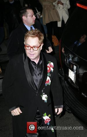 Elton John Urges U.s. To Accept Gay Marriages