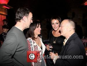 Angus Deayton, Lise Mayer and Tony Robinson attend the press night for Entertaining Mr. Sloane London, England - 30.01.09