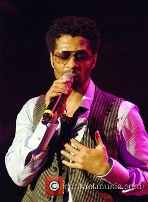 Eric Benet performing at the House of Blues Chicago, Illinois - 29.09.08