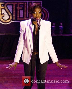 Estelle on tour supporting her album 'Shine' at the House of Blues. and House Of Blues