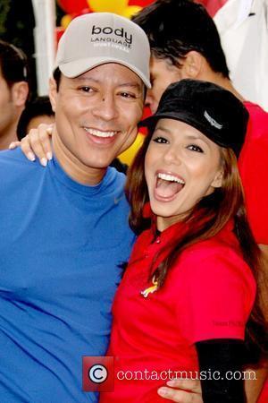 Yancey Arias and Eva Longoria