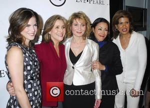 Natalie Morales and Ann Curry