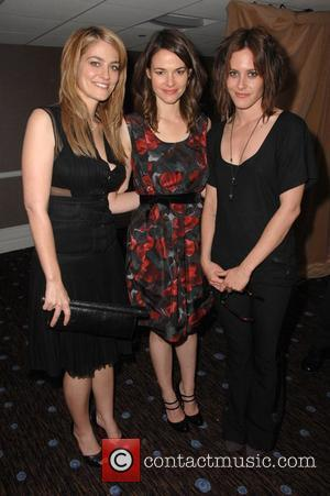 Clementine Ford, Leisha Hailey and Katherine Moennig