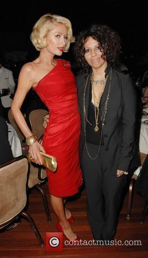 Paris Hilton and Linda Perry