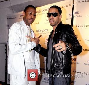 Fabolous and Ryan Leslie  at the Club Fifth Miami Beach. Miami, Florida, USA - 25.10.08