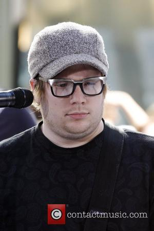 Patrick Stump of Fall Out Boy performing on the 'Today Show' at Studio 1A at the Rockefeller Center. New York...
