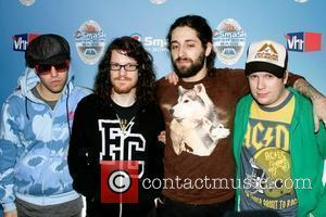 Fall Out Boy at the Pepsi Smash Super Bowl XLIII Bash at the Ford Amphitheatre Tampa, Florida - 29.01.09