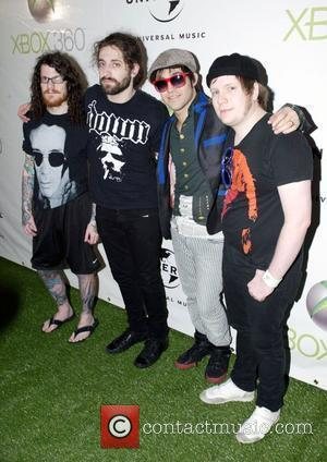 Andy Hurley, Fall Out Boy, Patrick Stump and Pete Wentz