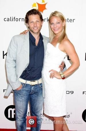 Jamie Bamber and sister Anastasia Griffith  Fashion For Life 2009 held at The California Market Center Los Angeles, California,...
