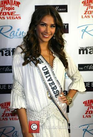 Dayana Mendoza aka Miss Universe 'Fashion Rocks The Universe' held at Hawaiin Tropic Zone Miracle Mile shops at the Planet...