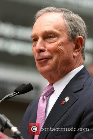 Mayor Michael Bloomberg and Duffy