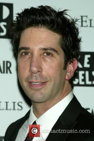 David Schwimmer Opening Night of the Naked Angels production of 'Fault Lines' at the Cherry Lane Theatre - Arrivals New...