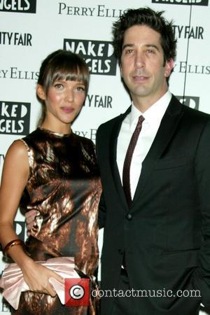 Zoe Buckman and David Schwimmer Opening Night of the Naked Angels production of 'Fault Lines' at the Cherry Lane Theatre...