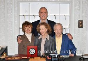 John Cleese and Prunella Scales