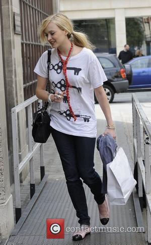Fearne Cotton arriving at BBC Radio 1 to present The Chart Show London, England - 19.04.09