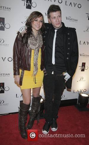 Briana Evigan with fiance Max Nash Fergie hosts LAVO at the Palazzo and TAO at the Venetian Las Vegas, Nevada...