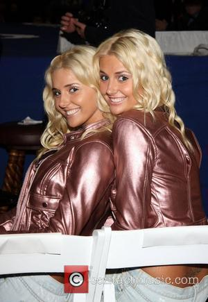 Karissa Shannon and Kristina Shannon 'Fight Night' at the Playboy Mansion Los Angeles, California - 21.03.09
