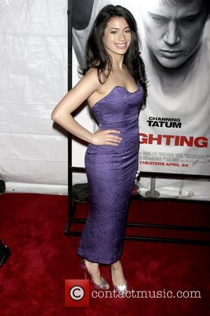 Angelic Zambrana at the premiere of 'Fighting' at the Regal Union Square Stadium 14 - Arrivals New York City, USA...