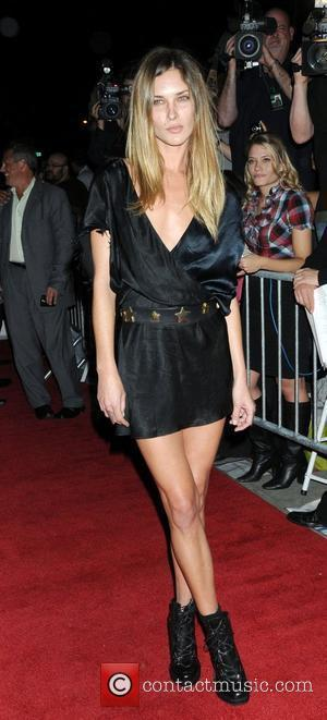 Erin Wasson at the premier of Filth and Wisdom