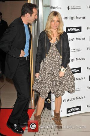 Sienna Miller and Odeon Leicester Square