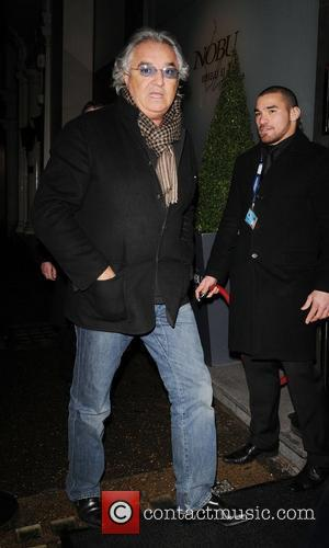 Flavio Briatore leaving Nobu restaurant  London, England - 05.12.08