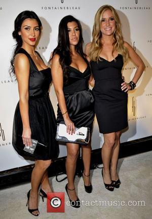 Kim Kardashian, Kourtney Karashian and Kristin Cavalleri