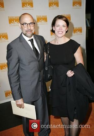 Stanley Tucci and guest Food Bank For New York presents the sixth annual Can Do award dinner held at Abigail...