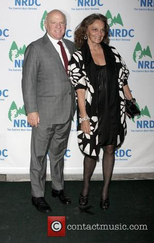 Barry Diller and Diane von Furstenberg Natural Resources Defense Council's 11th Annual `Forces For Nature' Benefit at 583 Park Avenue...