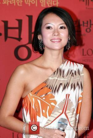 Zhang Ziyi Hand-print ceremony for the cast of the Chinese movie 'Forever Enthralled' Seoul, South Korea - 25.03.09