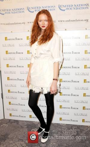 Lily Cole The 3rd Fortune Forum Summit at the Dorchester Hotel - Arrivals London, England - 03.03.09