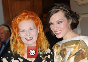 Vivienne Westwood and Milla Jovovich The 3rd Fortune Forum Summit at the Dorchester Hotel - Arrivals London, England - 03.03.09