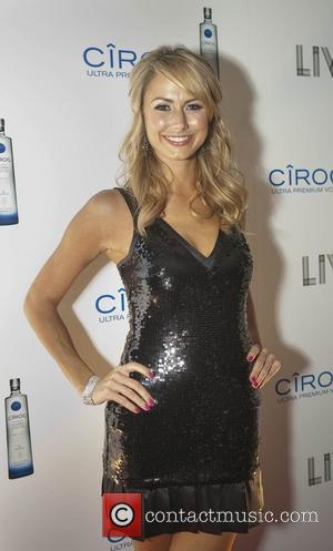 Stacy Keibler at the New Years Eve celebration at Fontainebleau's LIV nightclub Miami Beach, Florida - 31.12.08