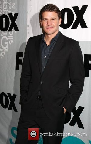 David Boreanaz  Fox TV Winter All Star Party at MyHouse - Arrivals Los Angeles, California - 13.01.09
