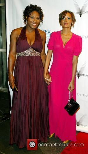 Serena Williams and Selita Ebanks The friends of New York for Children host the 6th Annual Spring dinner Dance at...