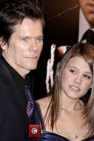 Kevin Bacon and Sosie Ruth Bacon