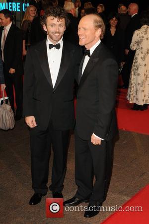 Michael Sheen and Ron Howard
