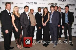 Aaron Eckhart, Blair Underwood, Fearless, Maria Menounos, Mario Lopez and Timbaland