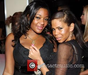 Charley Uchea partying with friends at Funky Buddha nightclub London, England - 17.02.09