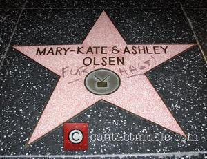 Actresses' Hollywood Stars Targeted By Vandals